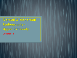 Normal & Abnormal Radiography