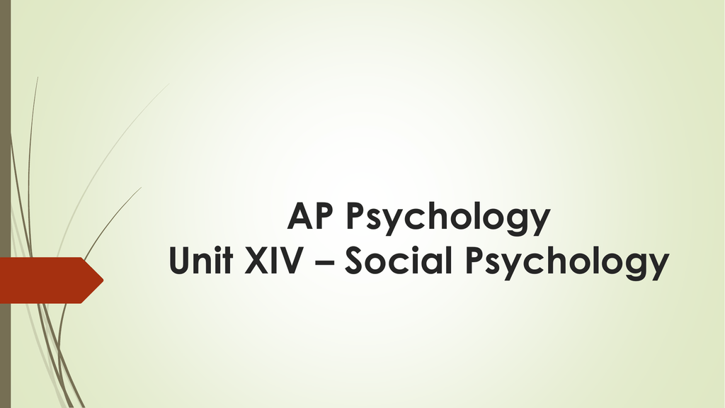 peripheral route to persuasion ap psychology