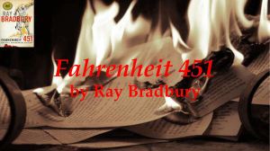 Allusions Assignment for Fahrenheit 451