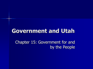 Government and Utah