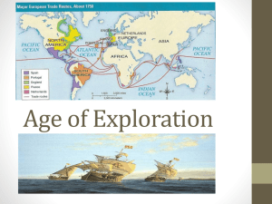 Age of Exploration - New Paltz Central School District