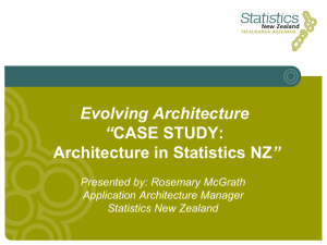 Creating a New Business Model for NZ's National Statistical Office of