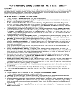 science laboratory student safety contract This 2008 edition is a revision and update of the science safety manual k–12 that was originally  student safety  students laboratory safety contract.