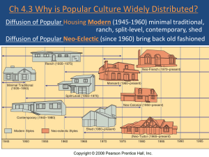 Ch 4.3 Why is Popular Culture Widely Distributed? Diffusion of Popular