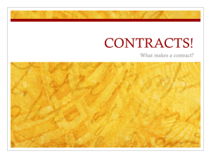 Contracts PPT 2012