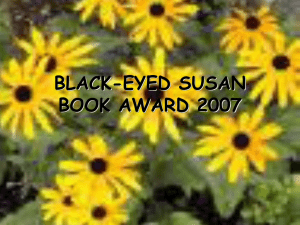 BLACK-EYED SUSAN BOOK AWARD 2003-2004