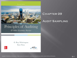 Audit Sampling: Concepts and Techniques