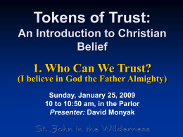 Presentation  - St. John in the Wilderness Church