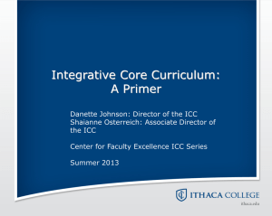 ICC Information Session Slides Summer