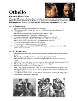 the manipulative character of iago in shakespeares play othello Iago: the evil in othello that is why i don't believe iago is meant to be an evil character there was only one conflict in the whole play iago.
