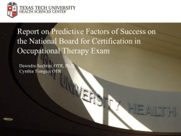 2012-214F - Texas Occupational Therapy Association