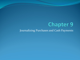 Chapter 9 PowerPoint