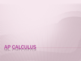 Calculus, 9th edition - EME6609