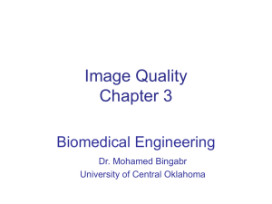 Ch 1 Basic Imaging Principles - University of Central Oklahoma