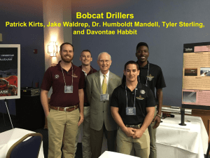 bobcat drillers - Texas State University