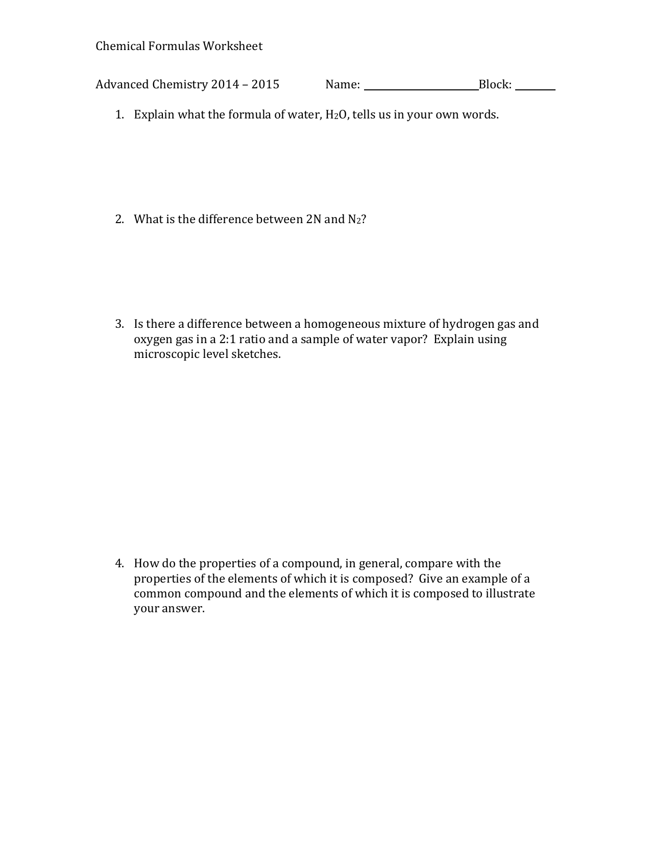 writing chemical formulas worksheet writing chemical formulas worksheet writing chemical formulas worksheet