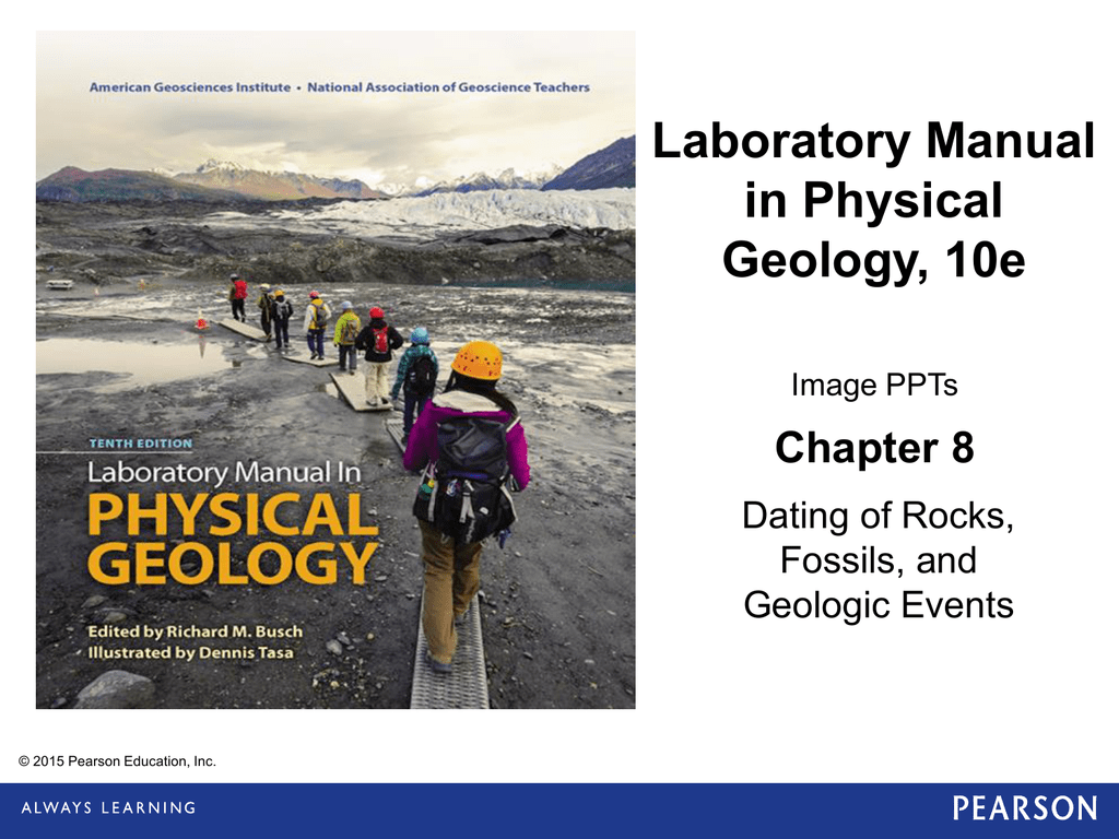 Dating Of Rocks Fossils And Geologic Events Lab