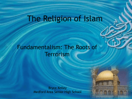 Islamic Fundamentalism and Terrorism