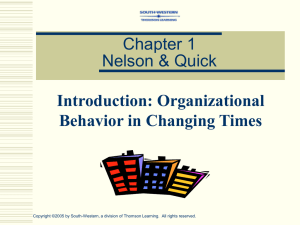 Chapter 12 Nelson & Quick
