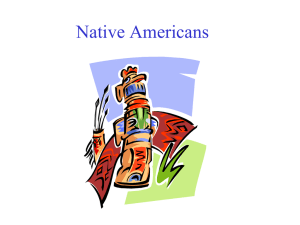 Native Americans - Warren County Schools