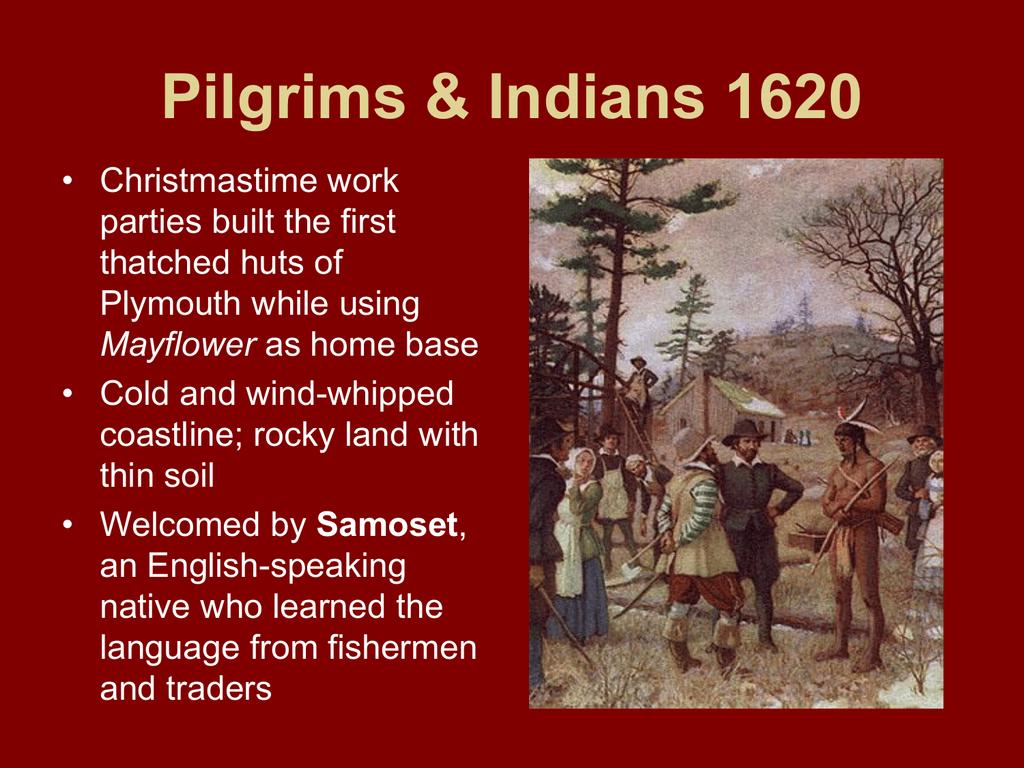 Pilgrims & Puritans - Mrs  Scudder's Middle School Social