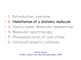 (Ultra-)Cold Molecules (Ultra