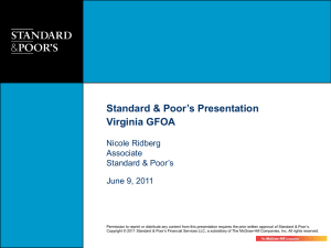 06.09.11 VA Overview of Pensions Mkt Update. S&P