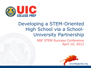 Workshop Presentation - Successful STEM Education