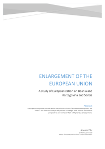 Enlargement of the european union - IEI