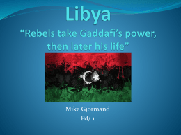 MIKE Gjormand_1_LIBYA - revolutions-past-present