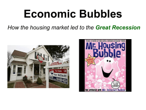 Economic Bubbles