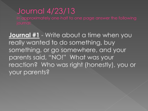 Journal 4/23/13 In approximately one