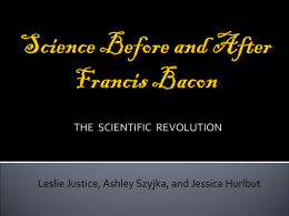 Science After Bacon - Mary Adams's Web Site