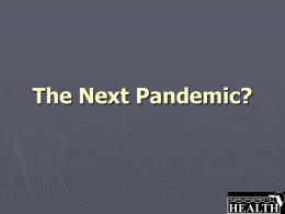 The Next Pandemic - Santa Rosa County School District