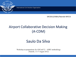Continuous Descent Operations (CDO) ICAO Doc 9931