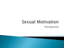 Sexual Motivation - Clinton Community College