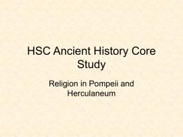 religion in pompeii and herculaneum