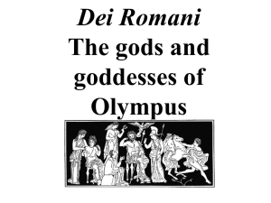 Dei Romani–Meet the Olympic gods