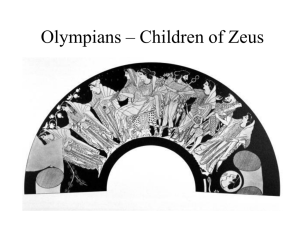 Olympians – Children of Zeus