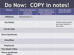 Do Now: COPY in notes!