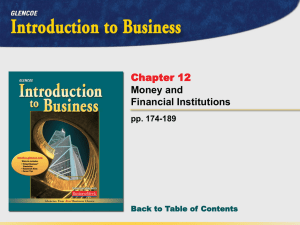 Introduction to Business - Reading Community Schools