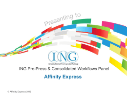 Affinity Express - International Newspaper Group