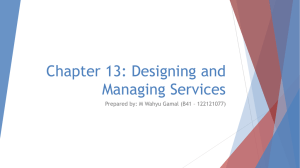 Chapter 13: Designing and Managing Services