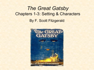The Great Gatsby Chapters 1-3