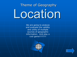 additional description of relative location