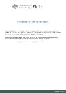 DOCX file of Standards for Training Packages (0.15 MB )
