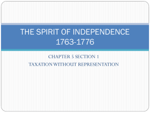 THE SPIRIT OF INDEPENDENCE - LPVEC