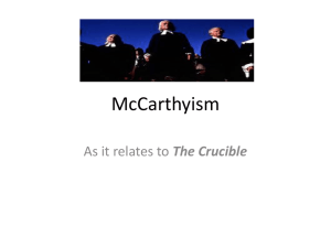McCarthyism - My Teacher Pages