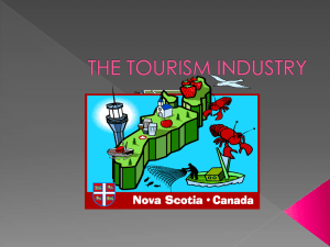 THE TOURISM INDUSTRY.ppt