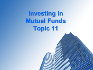 T11- Mutual Funds